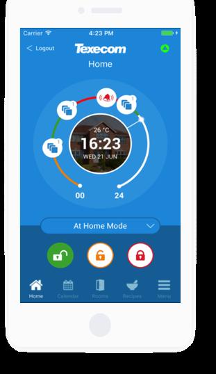 Texecom Connect iPhone App